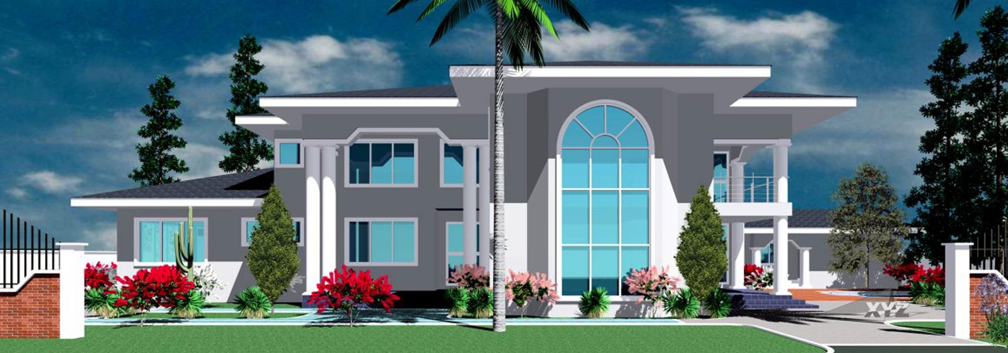 Beautiful Mantse Luxury Home In Ghana Front